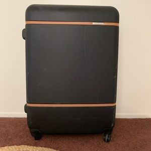 Large hard cover suitcase